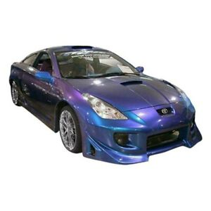 For Toyota Celica 2000 2005 Kbd Blits Style Front Bumper Unpainted