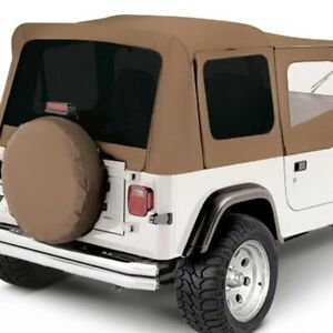 For Jeep Wrangler 1987 1995 Rampage 99617 Spice Factory Soft Top