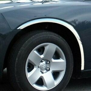 For Dodge Charger 2006 2010 Saa Polished Replacement Fender Trim