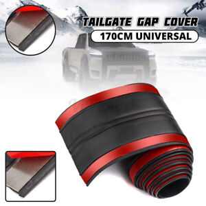 5 6ft Universal Rubber Truck Bed Tailgate Gap Cover Filler Seal Shield Lip Cap