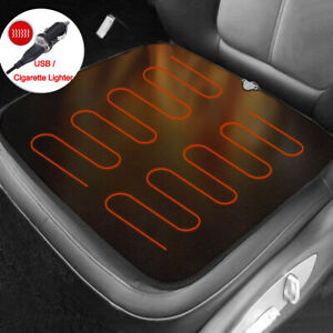 Car Heated Seat Kit 12v Car Heated Seat Pad Winter Warmer Fit For Auto