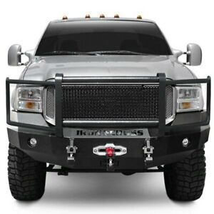 For Ford F 250 Super Duty 05 07 Bumper Heavy Duty Series Full Width Textured