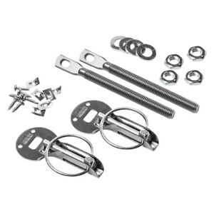 Sparco 01606s Silver Hood Pins