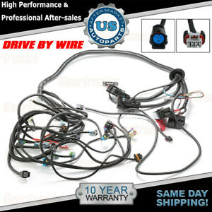 Standalone Wiring Harness Tr6060 W t56 58x For 06 15 Ls3 Ls2 6 2l Drive By Wire