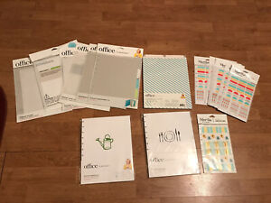 Large Lot Of Martha Stewart Office Supplies New