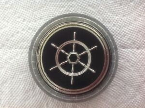 Vintage Original 1955 1956 Packard Clipper Steering Wheel Horn Button