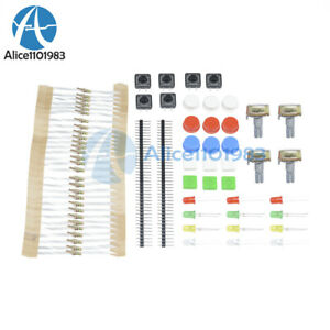 Electronic Parts Pack Kit For Arduino Component Resistors Switch Button Set