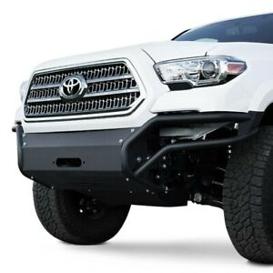 For Toyota Tacoma 16 20 Mbrp 183099 Full Width Black Front Winch Modular Bumper