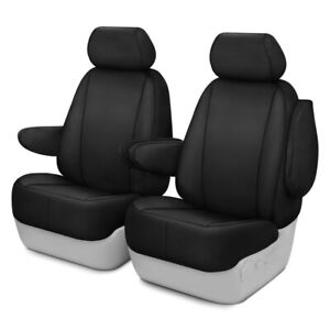 For Chevy Silverado 1500 07 11 Seat Protector Series 1st Row Black Seat Covers