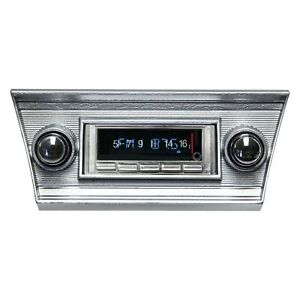 For Chevy Chevelle 66 67 Usa 740 Classic Car Receiver W Bluetooth