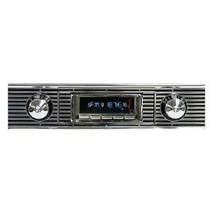 For Chevy Two ten Series 56 Usa 740 Classic Car Receiver W Bluetooth