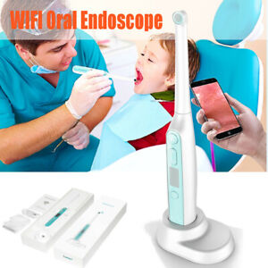 Oral Dental Wifi Intraoral Camera Endoscope Hd Wireless 8led Photo Shoot Android