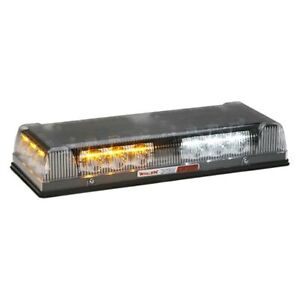 Emergency Light Bar Responder Lp Series Permanent Mount Conical Mini Amber White