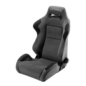 Cobra Seats C Day s gy Daytona Gray Spacer Fabric Race Seat