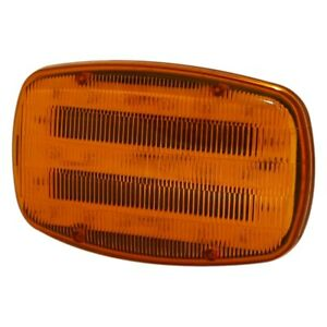 Ecco Ed0016a 7 5 Aa Battery Magnetic Mount Amber Led Strobe Light