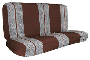 Universal Bench Seat Cover Fits Ford Chevy Dodge And Full Size Trucks Brown