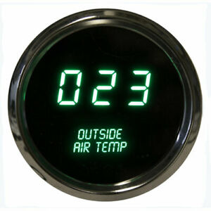 Intellitronix Ms9123g 2 1 16 Led Digital Outside Air Temperature Gauge 50 To 250