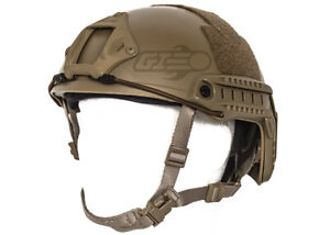 Lancer Tactical Bump Type Helmet Flat Dark Earth M L 20272 $60.00