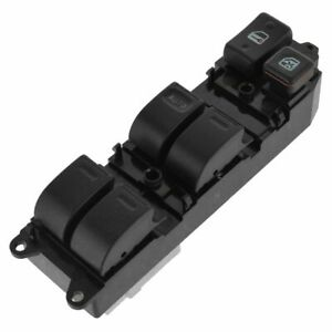 Master Power Window Switch Front Left Lh Driver Side 6 Button For 87 94 Camry