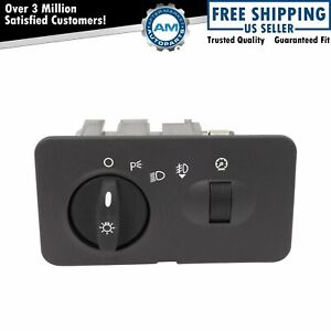 Headlight Switch For Ford F250 F350 F450 F550 Super Duty W Fog Lights