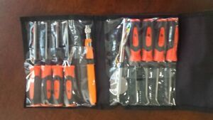 Snap On Soft Grip 10 Piece Pick screwdriver Kit Sgmini10bo brand New