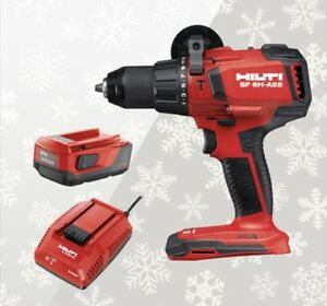Brushless Combo 4 0 Ah Battery Plus Charger Edition Hilti Sf 6h a22 Hammer Drill