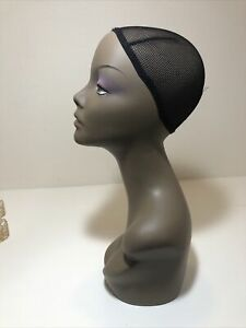 Realistic Mannequin Head For Wigs jewelry hats e mp001