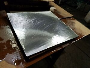 Hot Roll Steel Plate Blanchard Ground Flat 3 8 X 11 X 12 Tooling Stock