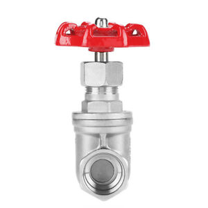 Water Gate Valve Sluice Valve Stainless Steel Sturdy Chemical Equipment