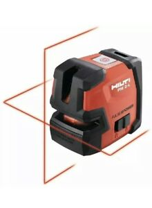 Brand New Hilti Pm 2 L Line Laser Self Leveling Level Plus Wall Mount Included