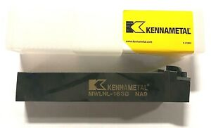Kennametal Mwlnl163d Kenloc Indexable Tool Holder Usa Made 1096359