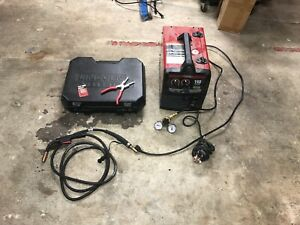 Lincoln Electric Aluminum Welding Setup pro Mig 140 With Spool Gun Kit
