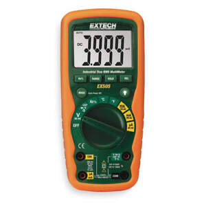 Extech Ex505 Industrial Digital Multimeter 40 Mohms