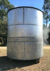 8 000 Gallon Jacketed Vertical Stainless Steel Mix Tank Ex Hazardous Area
