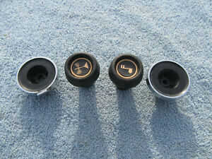 1970s Nova Camaro Dash Radio Volume Tune Control Knobs Pair