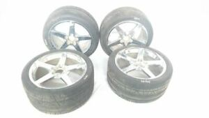 Set Of 4 Wheels Rims See Pics Some Scratches 19x10 Oem 06 07 08 Corvette R347435