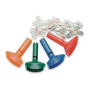 Mmf Industries 224000400 Coin Counting Tubes plastic pk4