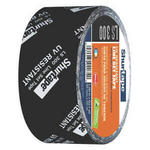 Shurtape Ls 300 Hvac Tape 48mm X 55m 3 Mil black