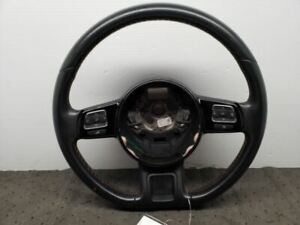 Steering Wheel Black Flat Bottom Fits 12 13 14 15 16 17 18 Beetle Trim Code 06