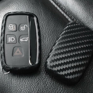 Car Key Case Cover Remote For Land Rover Range Rover 2011 2018 Carbon Look Fob