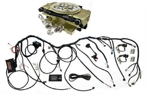 Fitech Fuel Injection 37001 Retro Ls 600 Hp Throttle Body System Basic Kit
