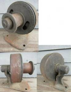 Antique Parker Mfg Co Lansing Michigan Governor Pulley Steam Gas Engine