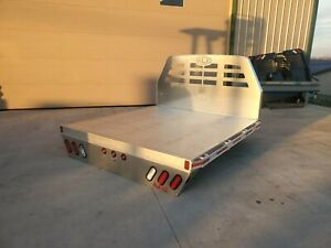 New Sw Alumax Aluminum Pickup Flat Bed Truck Body Ford Chevy Gmc Short Bed