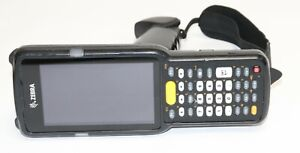 Zebra Motorola Mc3300 Mc330k gi3ha3us Mobile Computer Barcode Scanner W Battery
