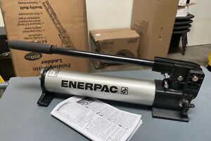 Enerpac P392alss 2 Stage Hydraulic Hand Pump 21 In X 4 3 4 In X 7 In