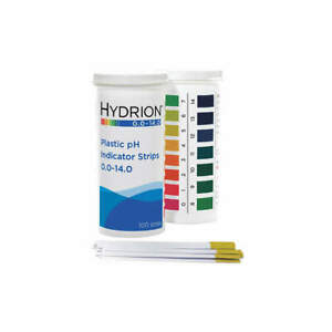 Micro Essential 9800 Ph Strips hydrion Spectral 0 14 pk100