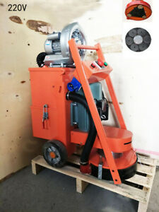 Hand push Industrial Concrete Floor Cement Ground Grinder With Fan 220v Hot Sale