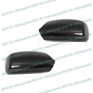 For 2007 2008 2009 2010 2011 Toyota Camry Carbon Fiber Side Mirror Covers Trims