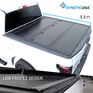 Fit 2007 2021 Ford F 150 5 5ft Short Bed Tri Fold Hard Tonneau Cover Low Profile