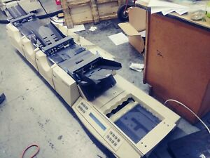 Pitney Bowes F500 Table Top Folder Inserter Sealing Machine Sold As Is